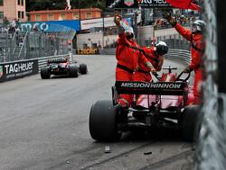 """Versnellingsbak Leclerc niet ernstig beschadigd: """"Morgenochtend nemen we beslissing"""""""