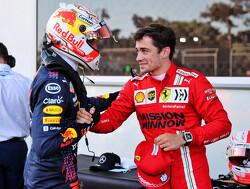 """Leclerc over Verstappen en Hamilton: """"Vechten met Max is leuk omdat het op de limiet is"""""""