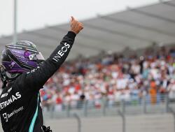 Hamilton gaat niet bij de pakken neerzitten na verliezen pole  GP Frankrijk en wil  daarom druk uitoefenen op Verstappen