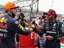 Verstappen en Hamilton hun snelste ronde zij aan zij geanalyseerd