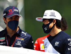 Teamplayer Perez steunt Tsunoda met rol als mentor