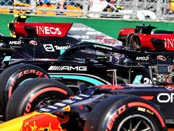 Startopstelling Grand Prix van Hongarije 2021