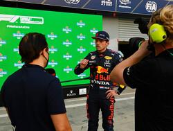 """Max Verstappen doet goede zaken in sprintrace: """"Dat verliep soepeler dan verwacht!"""""""