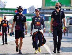 Red Bull en Perez geven demonstratie in Texas