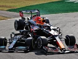 Samenvatting F1 Grand Prix van Italië:  Ricciardo wint in Monza na crash Verstappen met Hamilton