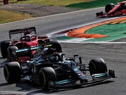 <b> Samenvatting VT1 GP Rusland: </b> Verstappen jaagt op Hamilton en Bottas, die nipt sneller zijn