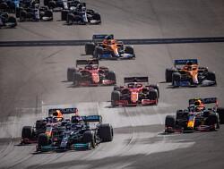 """Sergio Perez kon niet drinken in de hitte van Texas: """"Zwaarste race van mijn hele loopbaan"""""""