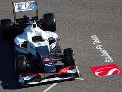 Sauber laat Fong en Nissany testen in C31 uit 2012