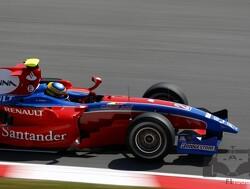Chandhok snelste tijdens kwalificatie, maar Senna op pole