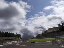 Grand Prix Spa-Francorchamp 2008: Hamilton glibbert naar de finish