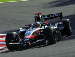 Alvaro Parente in Valencia in actie voor Carlin Motorsport
