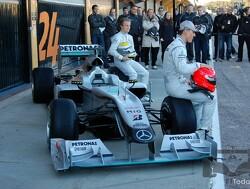 De dag dat Mercedes de W01 aan de wereld toonde