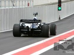 Sam Bird maakt eerste Formule 1-meters voor Williams