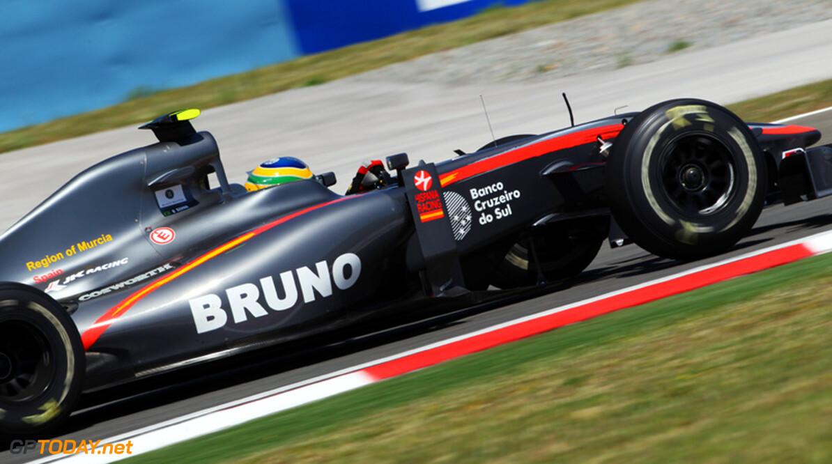 Hispania zet Senna aan de kant voor Yamamoto in Silverstone