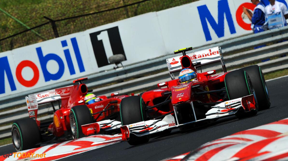 Alonso op 1 februari achter het stuur bij debuut 2011-Ferrari