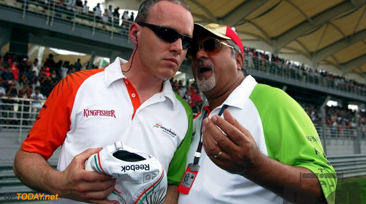 """Mallya: """"Geen Indiase coureur is goed genoeg voor Formule 1"""""""