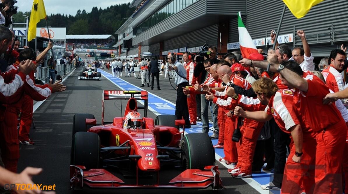 Ferrari acht zege op Monza niet waarschijnlijk