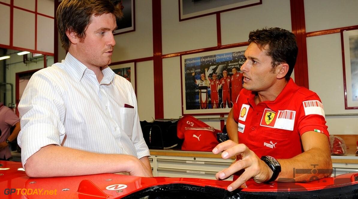 """Ferrari: """"Voordeel als Fisichella in 2010 bij ander team rijdt"""""""