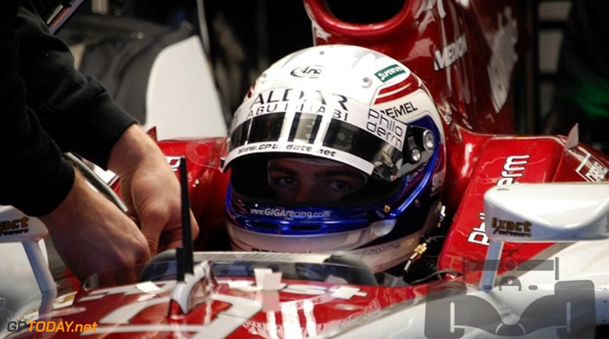 Van der Garde test hydraulica in Jerez voor Force India