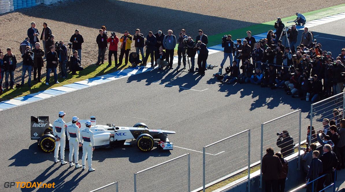 """Sauber: """"Podium is helaas niet groot genoeg voor 24 coureurs"""""""