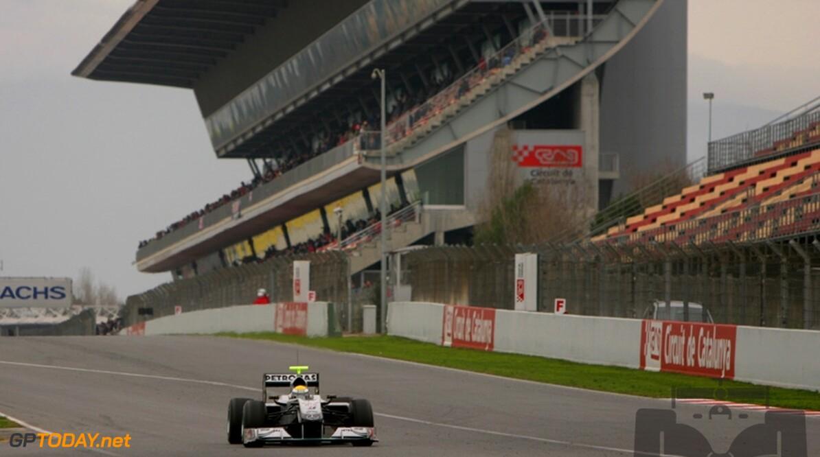 Mercedes GP rekent niet op podiumplaats in Bahrein