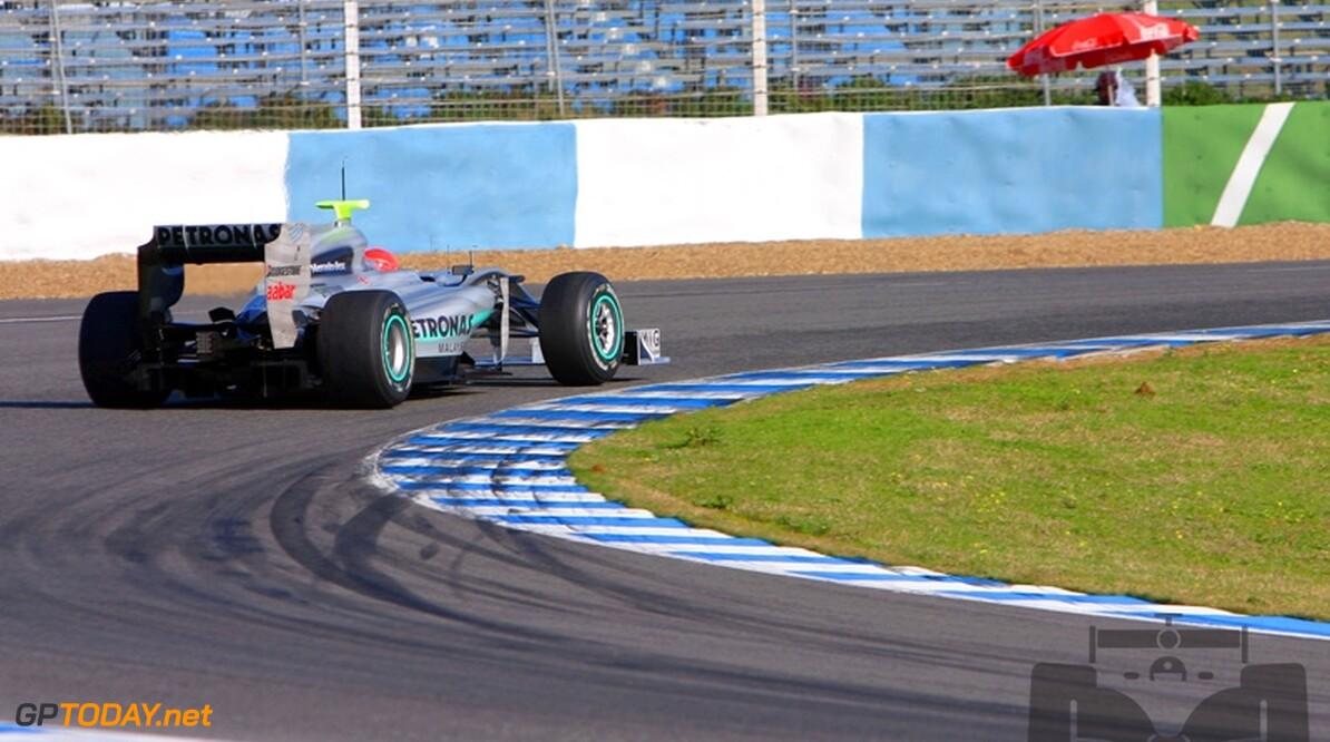 Schumacher verheugt zich nu al op race in Melbourne