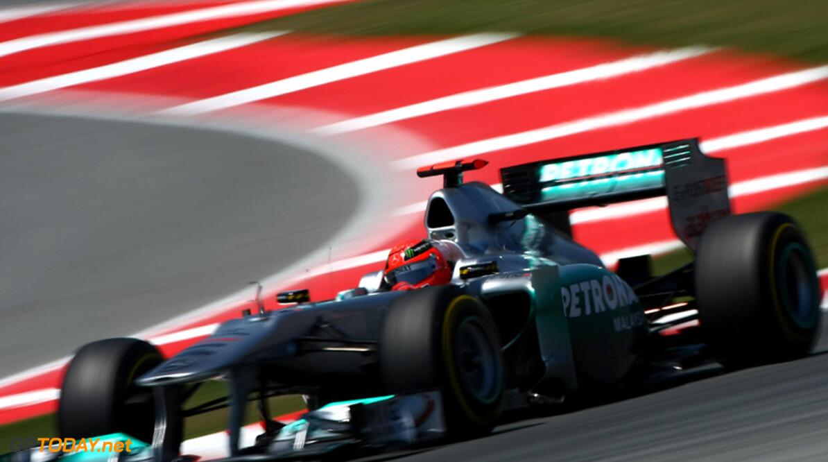 'Michael Schumacher verlengt contract bij Mercedes GP voor 2013'