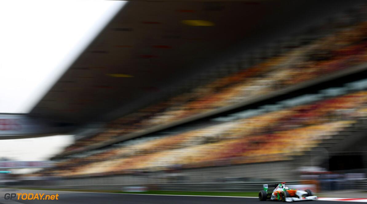 2011 Chinese Grand Prix - Saturday Shanghai International Circuit, Shanghai, China 16th April 2011 Adrian Sutil (GER), Force India F1 Team World Copyright: Andrew Hone / Formula Press / LAT Photographic