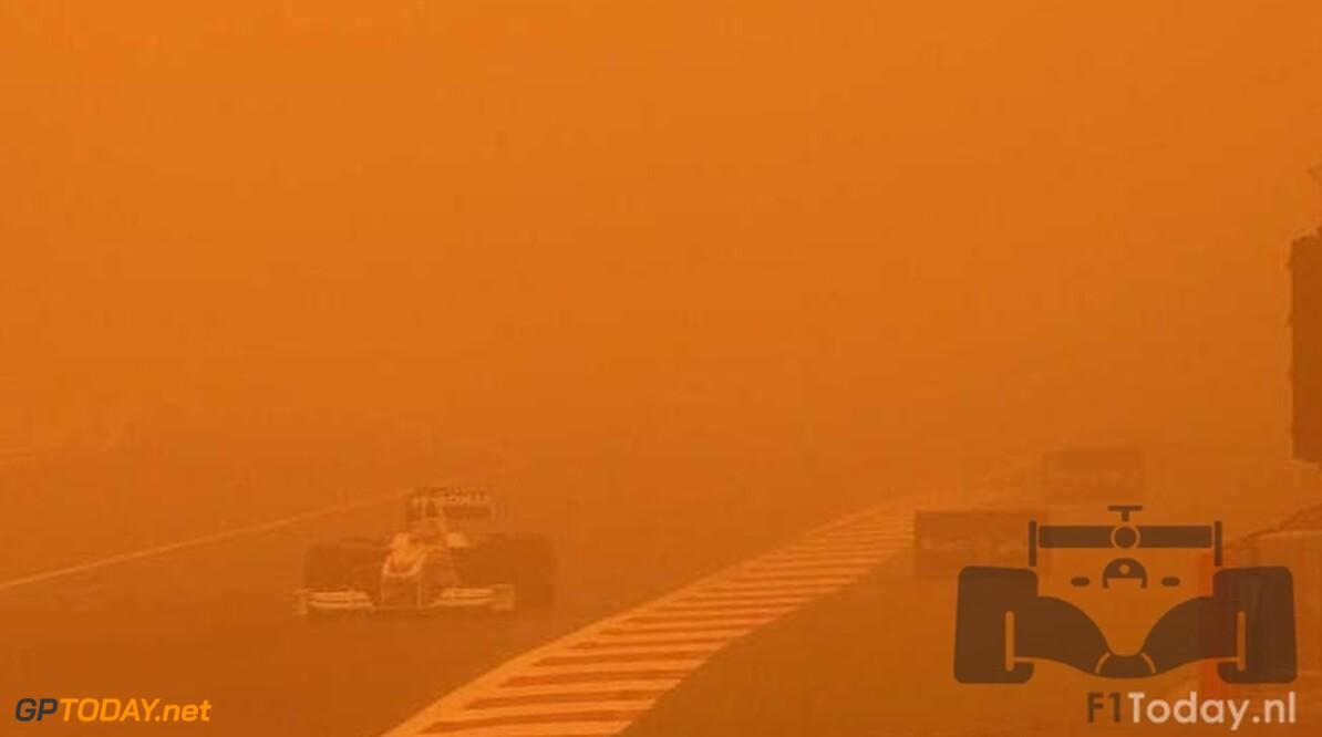 Zandstormen vormen bedreiging voor Grand Prix van Bahrein