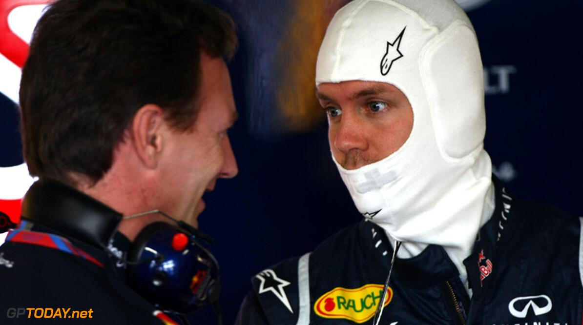 """Horner over jacht Vettel op snelste rondes: """"Aard van het beestje"""""""