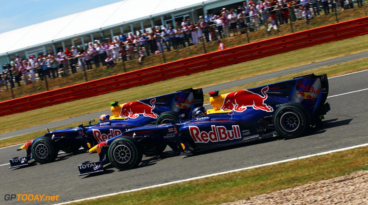 Red Bull Racing calculeert verlies op rechte stukken van Spa in