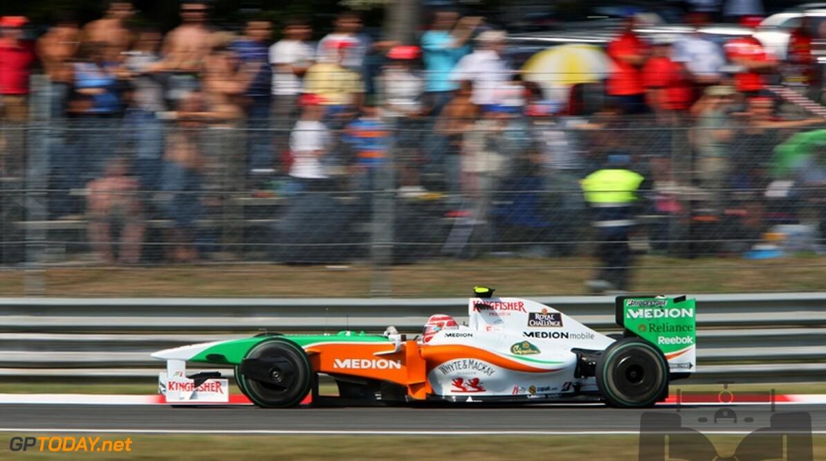 """Force India: """"Vitantonio Liuzzi is een echte ster"""""""