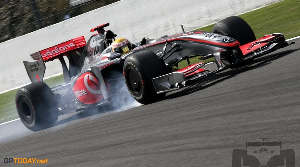 Hamilton pakt pole voor Sutil en Raikkonen in Monza