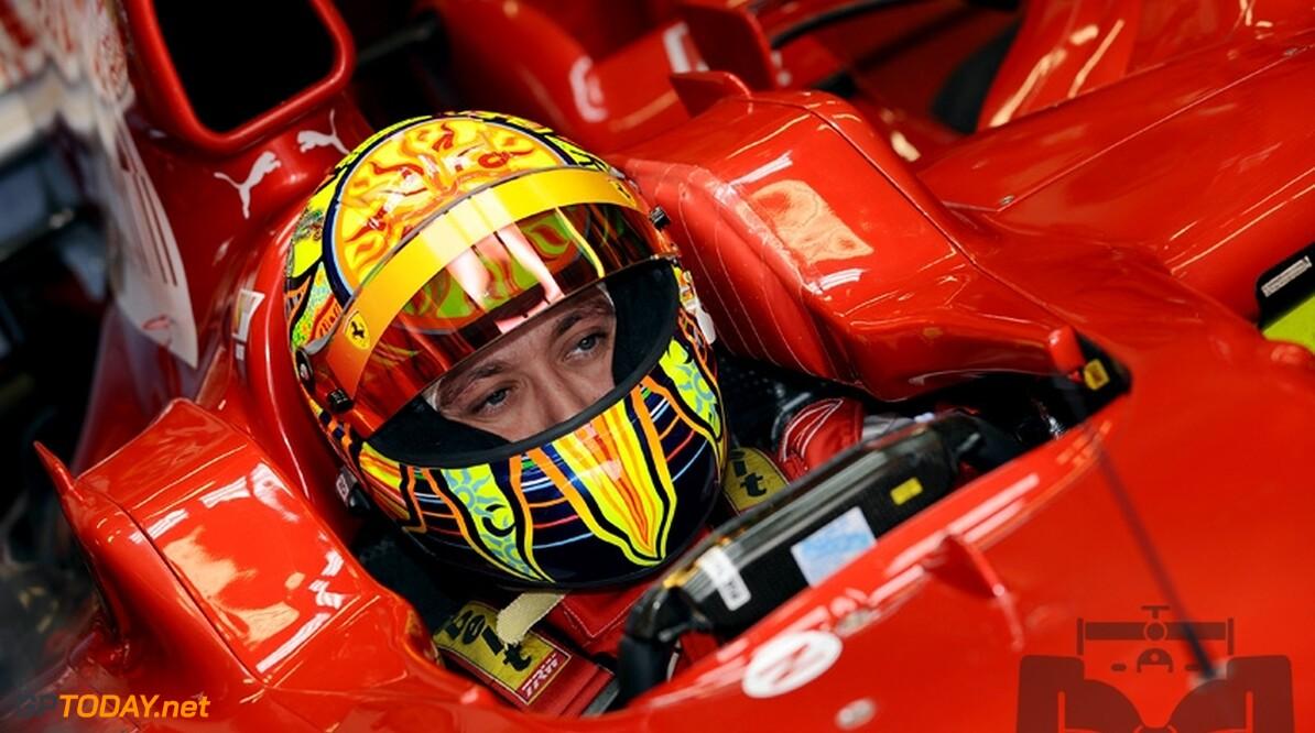 Rossi kent goede testdag met Ferrari in Mugello