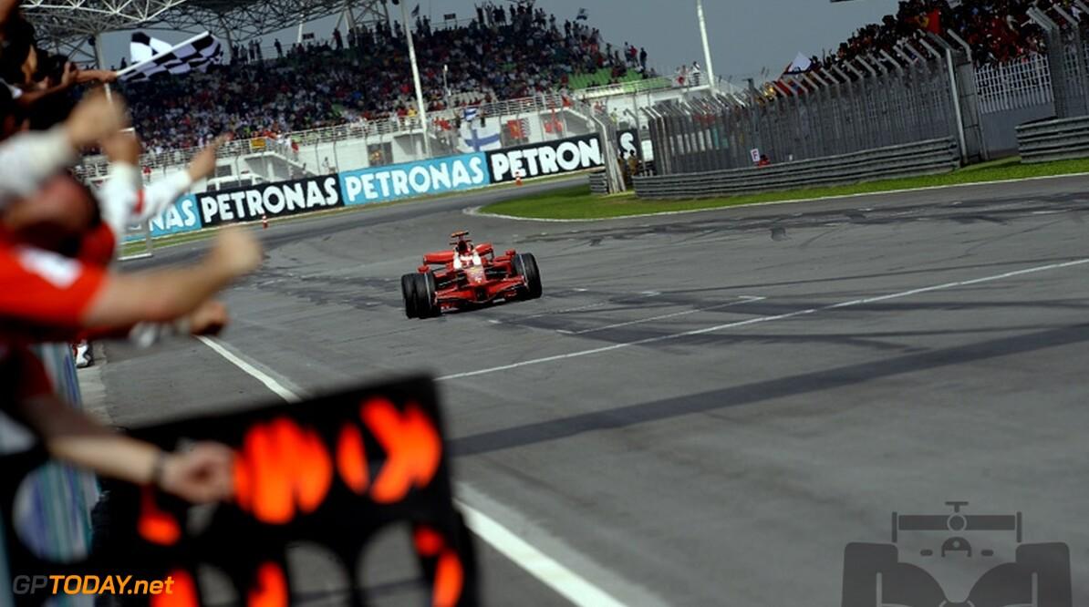 Raikkonen domineerde dusdanig dat hij zijn motor spaarde