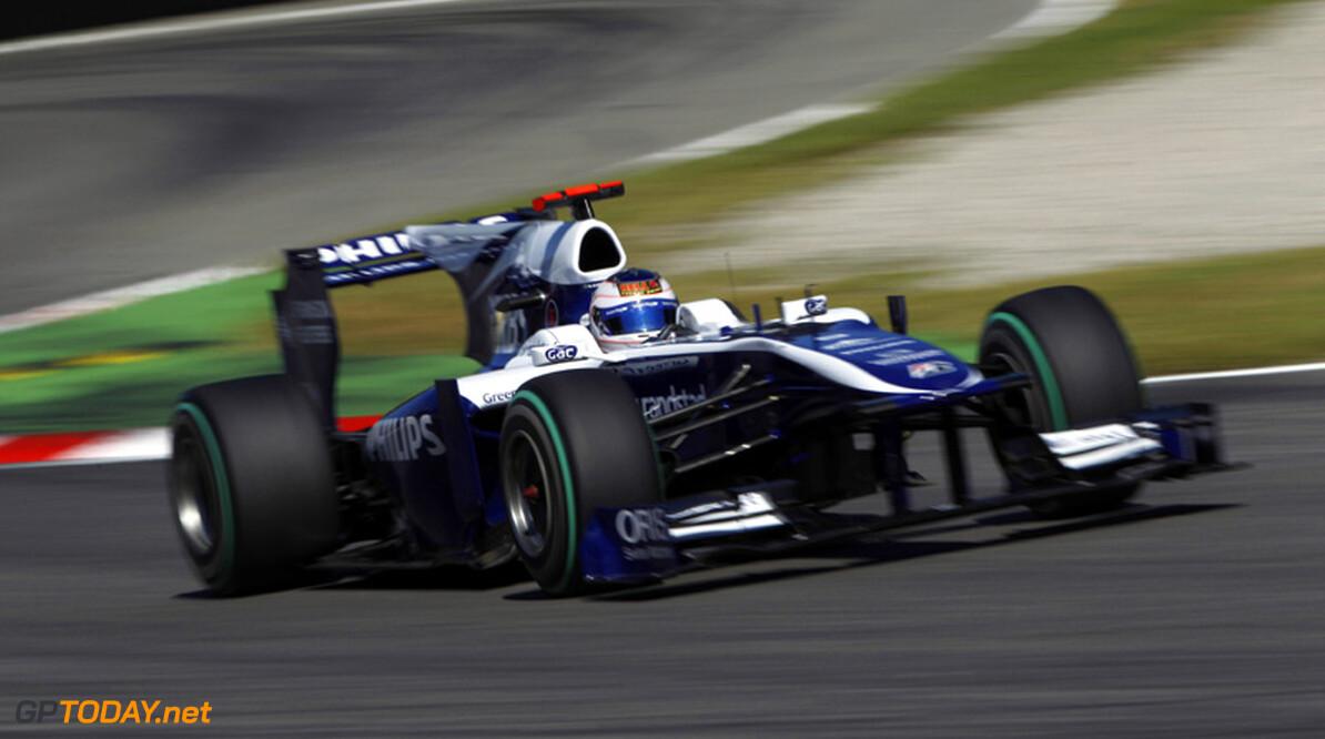 """Barrichello begint hem te knijpen: """"Hoop dat ik mag blijven"""""""