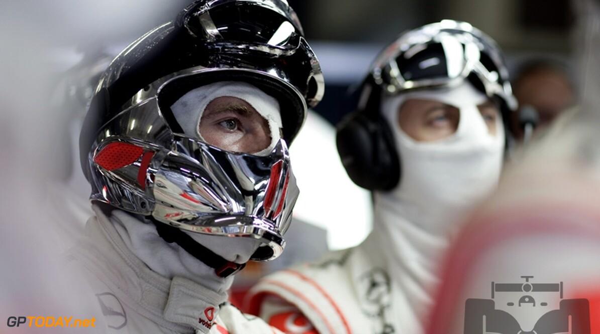 Jenson Button niet bang voor teamduel met Lewis Hamilton