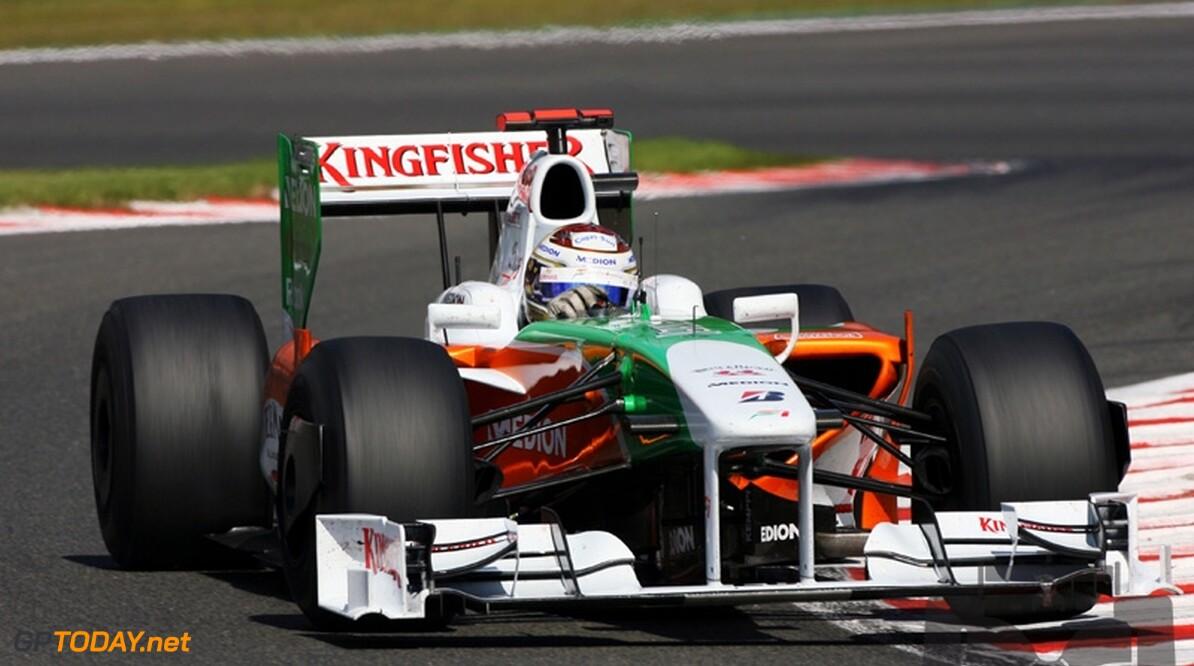VT3: Sutil opnieuw snelst, Fisichella crasht