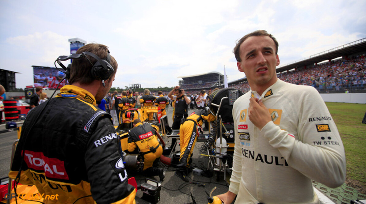 Robert Kubica rules out F1 return for now