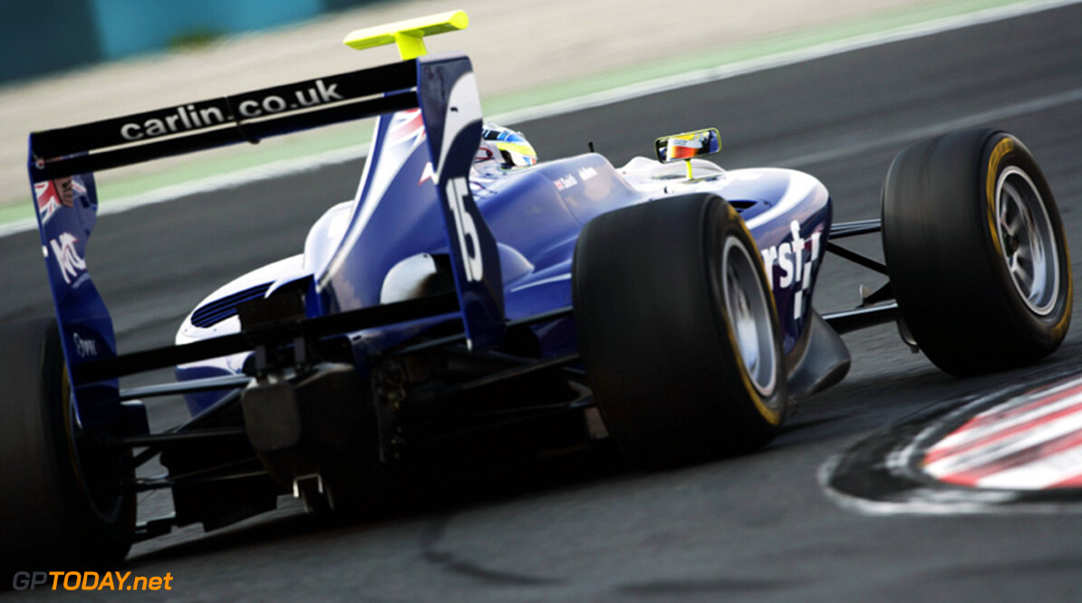 Müller en Williamson snelst tijdens GP3-test, Melker tweede