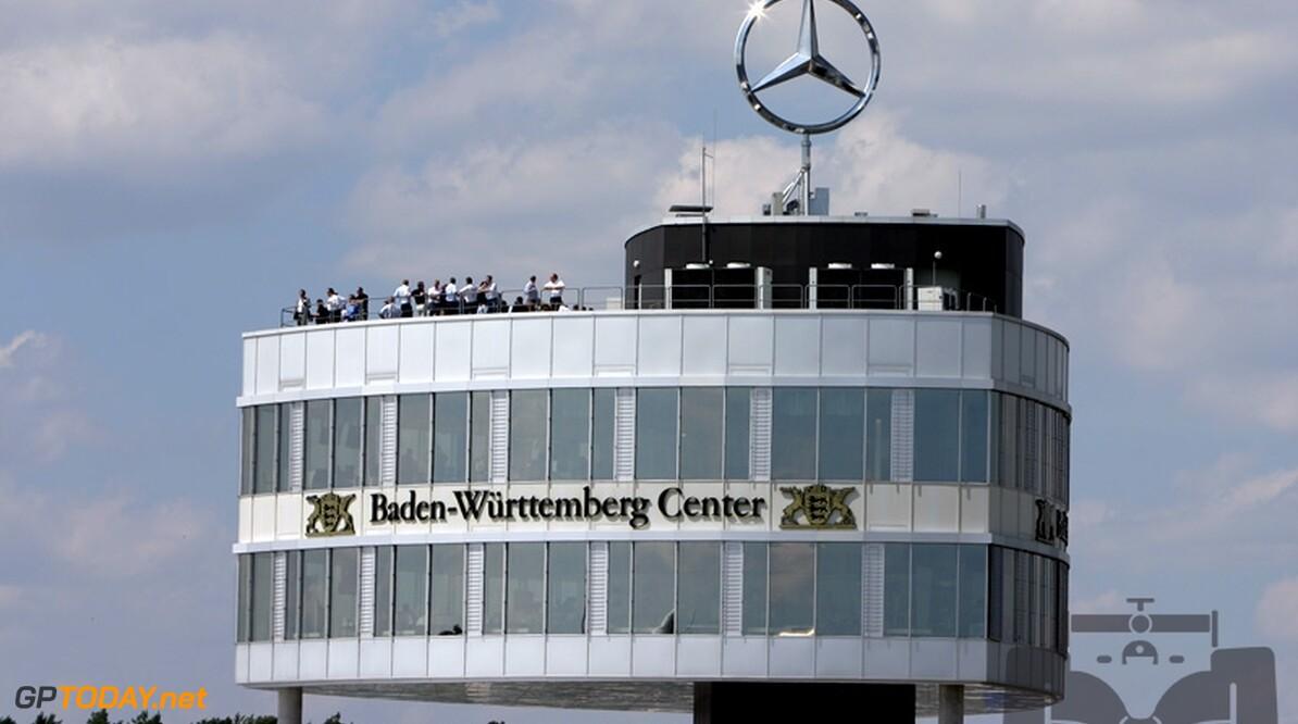 Kredietcrisis beïnvloedt Formule 1-plannen Mercedes niet
