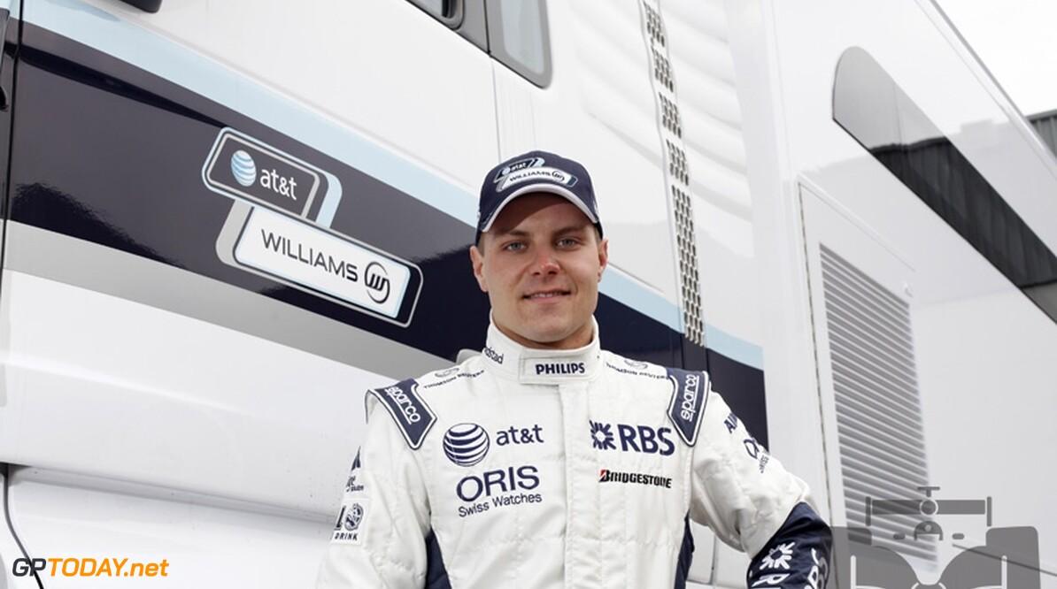Bottas en Bortolotti rijden voor Williams bij young drivers-test