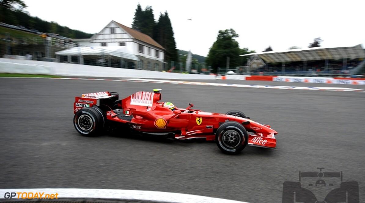 Tijdstraf voor Hamilton, Massa winnaar op Spa-Francorchamps