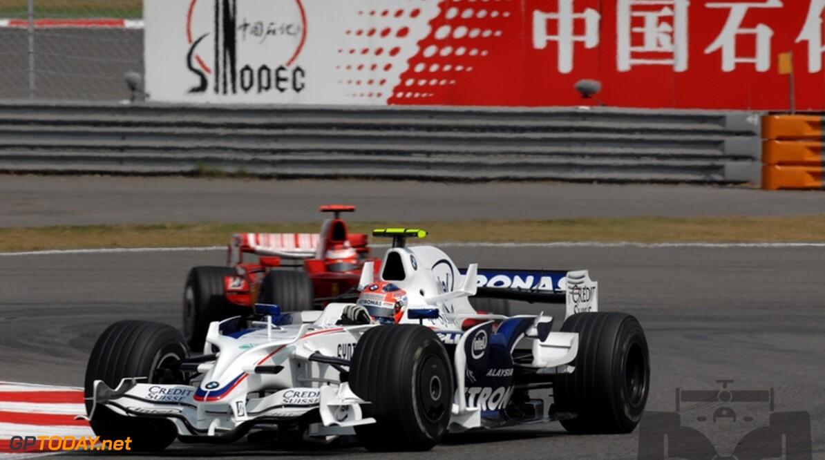 Kubica wil achter Massa en Hamilton eindigen