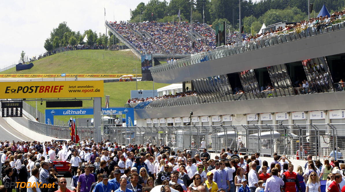 Red Bull voert campagne voor Grand Prix op oude A1-Ring
