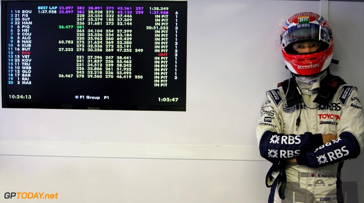 Rosberg en Nakajima balen van slechte kwalificaties