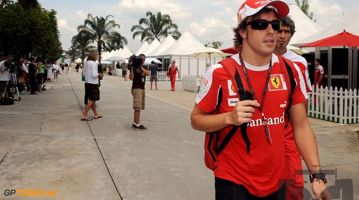 """Fernando Alonso herhaalt: """"Nul zorgen om motoren"""""""