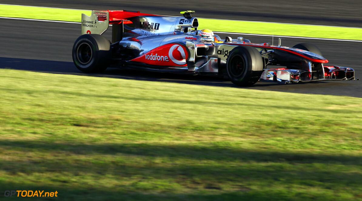 VT1: Lewis Hamilton opent als snelste in Zuid-Korea