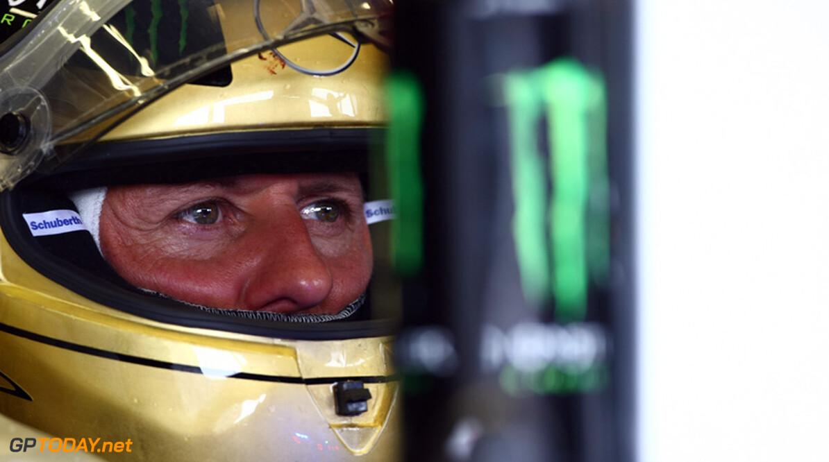 """Schumacher denkt nog niet aan 2013: """"Dat is van later zorg"""""""