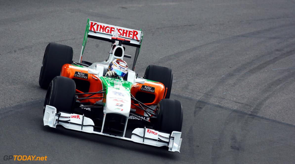 Adrian Sutil veroordeeld tot Force India voor 2011
